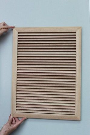 Wooden Return Air Grille