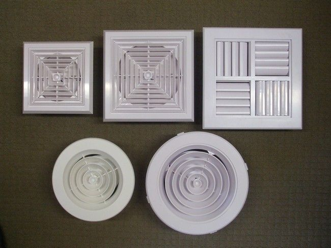 Various Ceiling Outlets