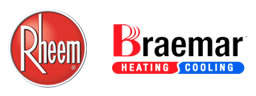 Suppliers of Rheem and Braemar - Heating and Cooling